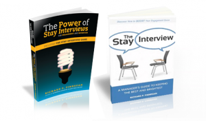 stay interview books by dick finnegan