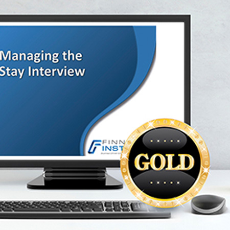 Managing the Stay Interview Course - Gold